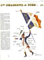 """Les porte-drapeaux de Napol�on, pochette et planches  A4 collection """"Persil"""" pour les murs de votre classe"""