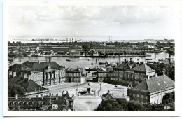 Kobenhavn, Kopenhagen, Udsigt Over Amalienborg Plads Og Havnen, 2.11.1955, - Dänemark