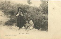 ALGERIE, Fillettes KABYLES - Kinderen
