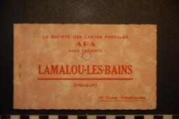 CP, 76, LOT DE 10 CPSM De Lamalou Les Bains Edition APA - Lamalou Les Bains