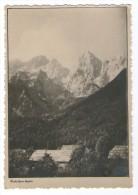 SLOVENIJA SLOVENIA RAZGLEDNICA  GORE MARTULJEK MARTULKOVA SKUPINA  MOUNTAINS CLIMBING ALPINISM OLDPOSTCARD - Slovénie