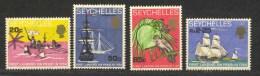 Seychelles, Yvert 243/246, Scott 248/251, SG 253/256, MNH - Seychelles (...-1976)