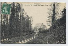 DUCLAIR : Le Chemin Des Fontaines Et Le Moulin - 9 ND Phot - Duclair