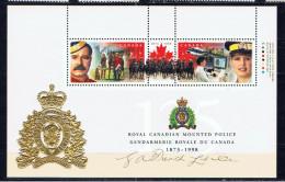 CDN+ Kanada 1998 Mi Bl. 25 I - 1690-91 Mnh Polizei - 1952-.... Règne D'Elizabeth II