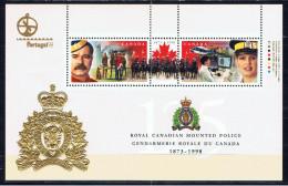 CDN+ Kanada 1998 Mi Bl. 25 II - 1690-91 Mnh Polizei - 1952-.... Règne D'Elizabeth II