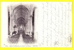 * Lille - Rijsel (Dép 59 - Nord - France) * (ND Phot, Nr 25) église Saint Maurice, La Nef En Le Choeur, Kerk, Church TOP - Lille