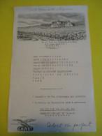 Carte Menu / Buffet De La Gare De Clermont-Ferrand/Congrés National De La Libre Pensée/1960    MENU56 - Menus