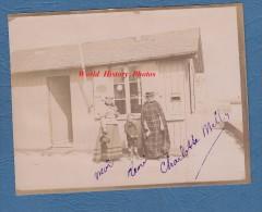 Photo ancienne d�but 1900 - SAINT VALERY en CAUX - Bureau de l� Officier du Port - TOP RARE