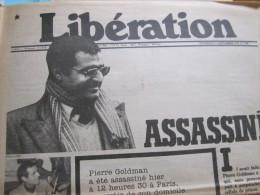 Dossier Composé De 103 Articles (dont 29 Photocopies) Entre 1974 & 2010 Sur Pierre GOLDMAN - Journaux - Quotidiens