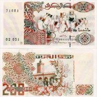 ALGERIA 200 DINARS P-138 1992 UNC - Algeria