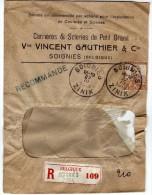 Soignies. Carrières Et Scieries Du Petit Granit. Enveloppe. **** - Soignies