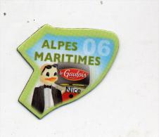 Magnet Gaulois Departement Alpes Maritimes - Magnets