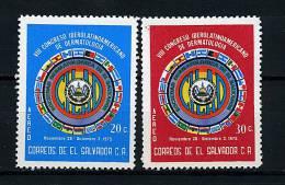 Salvador ** PA N° 343/344 - 8e Congrès De Dermatologie - El Salvador