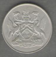 TRINIDAD & TOBAGO 25 CENTS 1966 - Trindad & Tobago
