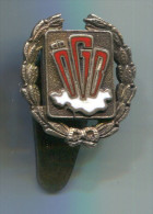 OGB - Austrian Trade Union Federation, enamel, vintage pin, badge, silver, button hole