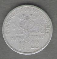 FRANCE Un Jeton 5 Centimes 1922 Alpes Maritimes (monnaie De Nécessité) - Monetari / Di Necessità