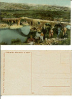 Scutari Shkoder Shkodra: Partie An Der Messi-Brucke In Skutari. Postcard Cm 9x14 First ´900 (asino Donkey) - Albanien