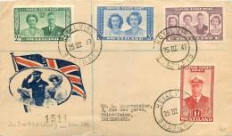 Swasiland - Carte Lettre Illustrée - Circulée En 1947 - Voir 2 Scans; - Swaziland
