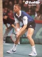 Boris Becker - Tennis - Lotto - Tennis