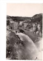 01-----GENISSIAT---chute Canal évacuateur Et Saut De Ski--voir 2 Scans - Génissiat