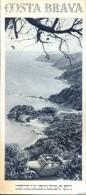 Dépliant Brochure - Toerisme Tourisme - Costa Brava Espagne - Vieux Papiers