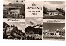 C P S M-C P M----------BAVIERE----DER OBERSALZBERG  Vor Und Nach  1945---voir 2 Scans - Oberstdorf