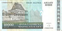 BILLETE DE MADAGASCAR DE 10000 ARIARY DEL AÑO 2009  (BANKNOTE) - Madagaskar
