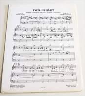 Rare Partition Vintage / Vintage Sheet Music CHARLES LEVEL / ROLAND VINCENT : Delphine - Compositeurs De Musique De Film