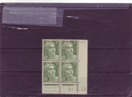 N°719 B - 5F Marianne De GANDON - D De C+D - 2° Partie Du Tirage Du 22.2.46 Au 19.3.46 - 11.03.1946 - 1940-1949