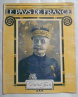 WW I:LE PAYS DE FRANCE:NORD.SAPES.ARGONNE .RUSSES.JAPONAIS.Etc..