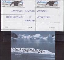 TAAF Penguin , Postcard - Blocs-feuillets