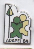 Beau pin�s en EGF , association ADAPEI 84 , handicap , Vaucluse