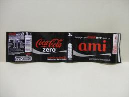 "Etiquette Soda COCA COLA ZERO ""AMI""  2 L - Autres"