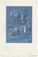 Menu. Air France. Illustrateur Pierre Pages. Lignes Paris-Mexico. - Menus