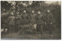 Carte Photo. Militaria. Groupe D'Officiers En Septembre  1929. A Situer. - Guerra, Militari