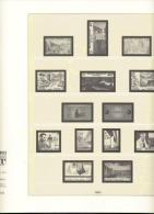 CEPT Gemeinschaftsausgaben Lindner 290a Vordruckblätter 1983 - 1987 Gebraucht Ohne Marken - Albums & Binders