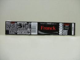 "Etiquette Soda COCA COLA ZERO ""FRANCK""  500 Ml - Labels"