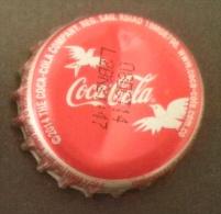 "COLOMBIA-"" COCA COLA - BRASIL 2014- BIRDS  -  BOTTLE CROWN CAP / KRONKORKEN /TAPPI-USED"
