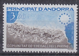 Andorra Fr. 1984 Pynrenees Region 1v ** Mnh (17170) - Ideas Europeas