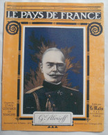 WW I:LE PAYS DE FRANCE:SERBES.ITALIE.CONF ERENCE ALLIES.VERDUN.SALONIQUE.E tc....