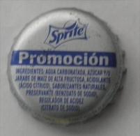 "COLOMBIA-"" SPRITE "" -  PROMOCION - BOTTLE CROWN CAP / KRONKORKEN /TAPPI-USED"