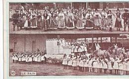 23971 Chaux De Fonds, Sept 1912 -maison Du Peuple Carte Officielle Cortege Allegorique PAIN N° 7 -Mettler-wys - NE Neuchâtel