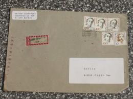 Bund Brief  R- Zettel Berlin Baumschulenweg Stempel VGO        #XL505 - Briefe U. Dokumente