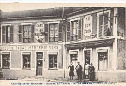23972 LIERS CAFE EPICERIE MERCERIE VINS BUREAU DE TABACS M.LATOUCHE -photo Pottier -Au Bon Coin - France