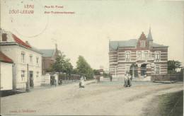 Zoutleeuw - Sint-Truidenschestraat (Gepr�ft - �berwachungstelle Tirlemont 1915) - Marcovici.