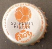 """COLOMBIA-"""" FANTA """" - 1 GOL   - BOTTLE CROWN CAP / KRONKORKEN /TAPPI-USED"""