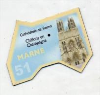 Magnet Gaulois Departement  Marne - Magnets