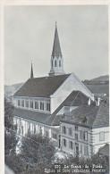 23976 La Chaux-de-Fonds,  Eglise Et Cure Catholique Romaine - Ed Dubois -lCdF - ! Pliure!