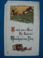 "Raphael Tuck & Sons ""Thanksgiving"" Series No.192 - Thanksgiving"