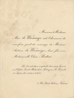 Antoine De Wasseige Claire Partur - Wedding